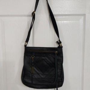 Lucky Brand Black Leather Handbag